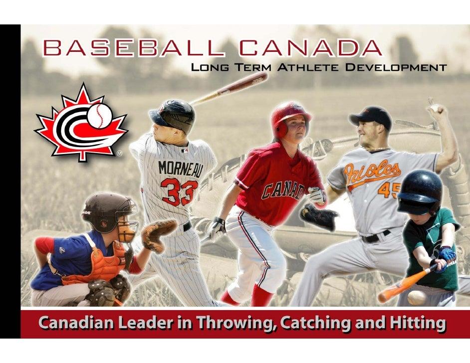 Long Term Athlete Development   Baseball Canada