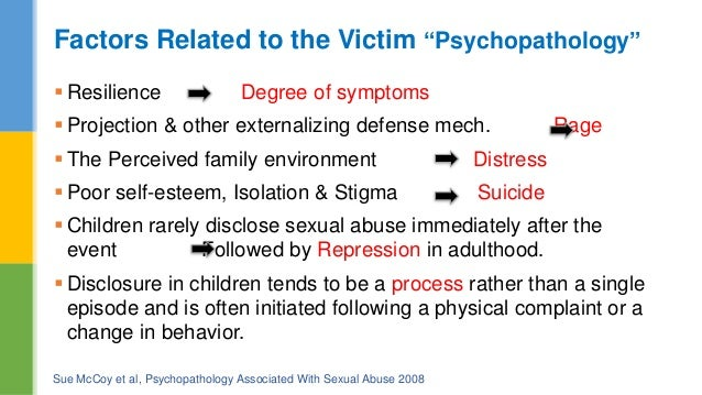 repressed sexual abuse symptoms in adults