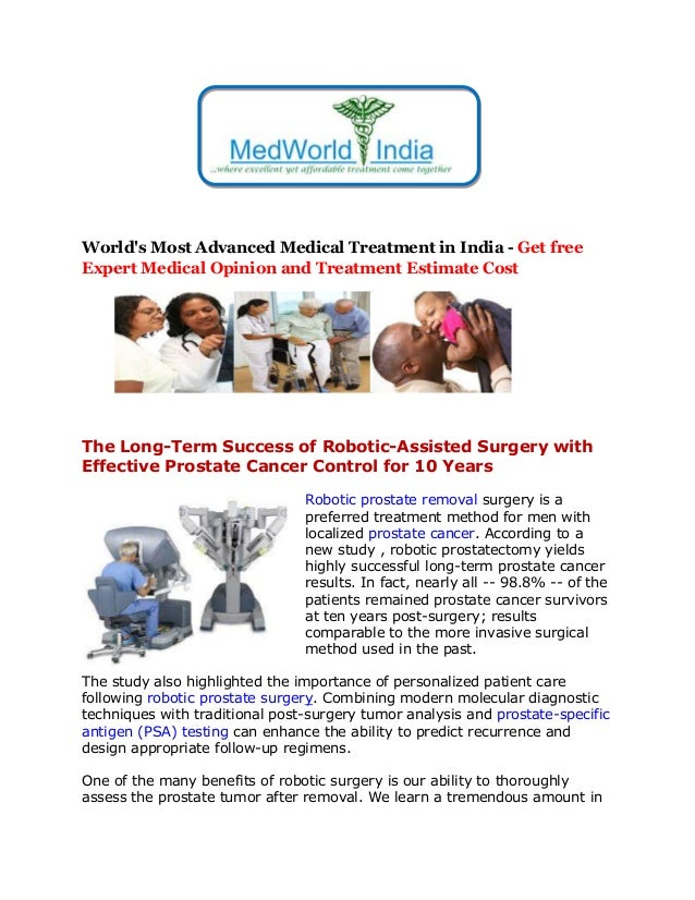 World's Most Advanced Medical Treatment in India - Get free Expert Medical Opinion and Treatment Estimate Cost The Long-Te...