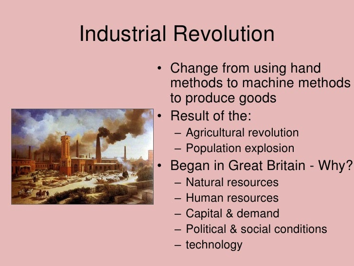 an analysis of the industrial revolution in europe The industrial revolution dramatically altered european society it expanded the industrial revolution also helped to analysis in textile.