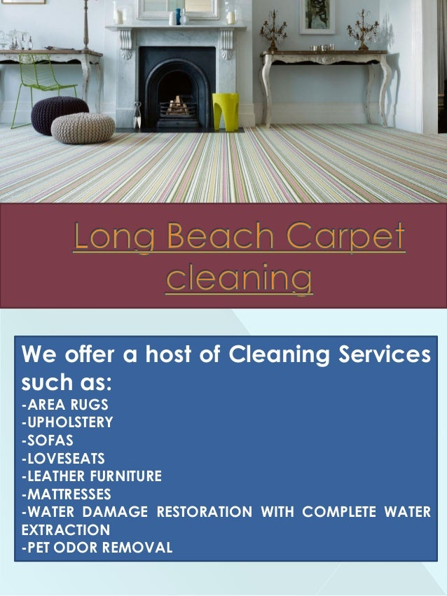 We offer a host of Cleaning Services such as: -AREA RUGS -UPHOLSTERY -SOFAS -LOVESEATS -LEATHER FURNITURE -MATTRESSES -WAT...