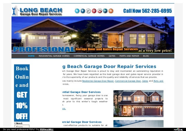 Delicieux HOME RESIDENTIAL GARAGE HOMES COMMERCIAL GARAGE HOMES GATES PARTS AND REPAIR  BLOG Long Beach Garage Door ...