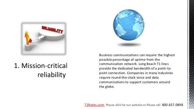 Business communications can require the highest          possible percentage of uptime from the          communication net...