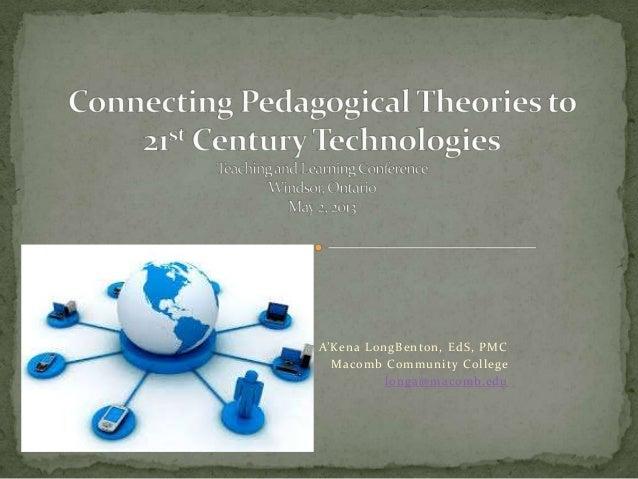 A'Kena LongBenton, EdS, PMCMacomb Community Collegelonga@macomb.edu