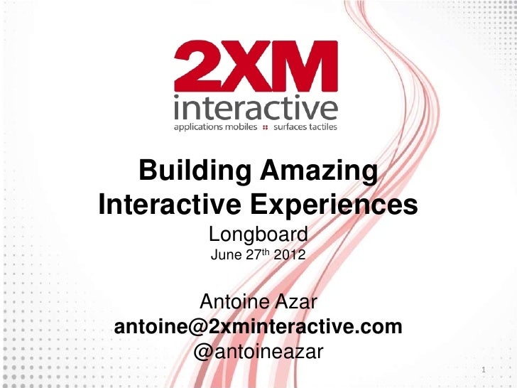 Building amazing interactive experiences for Interactive house builder