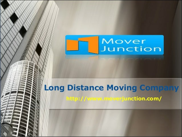 Long Distance Moving Company http://www.moverjunction.com/