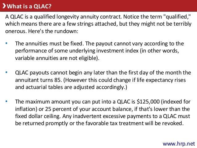 Longevity Annuity Now An Option For Your 401 K