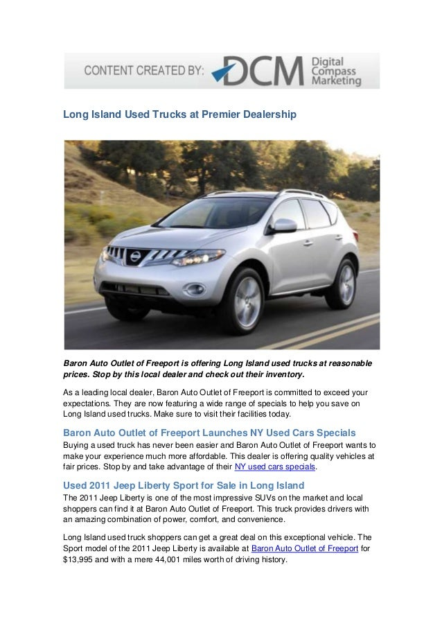 Used Cars Long Island Ny >> Long Island Used Trucks At Premier Dealership