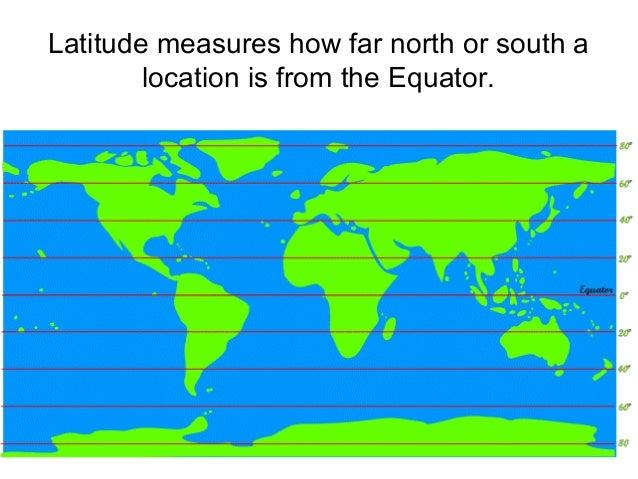 La Ude Measures How Far North