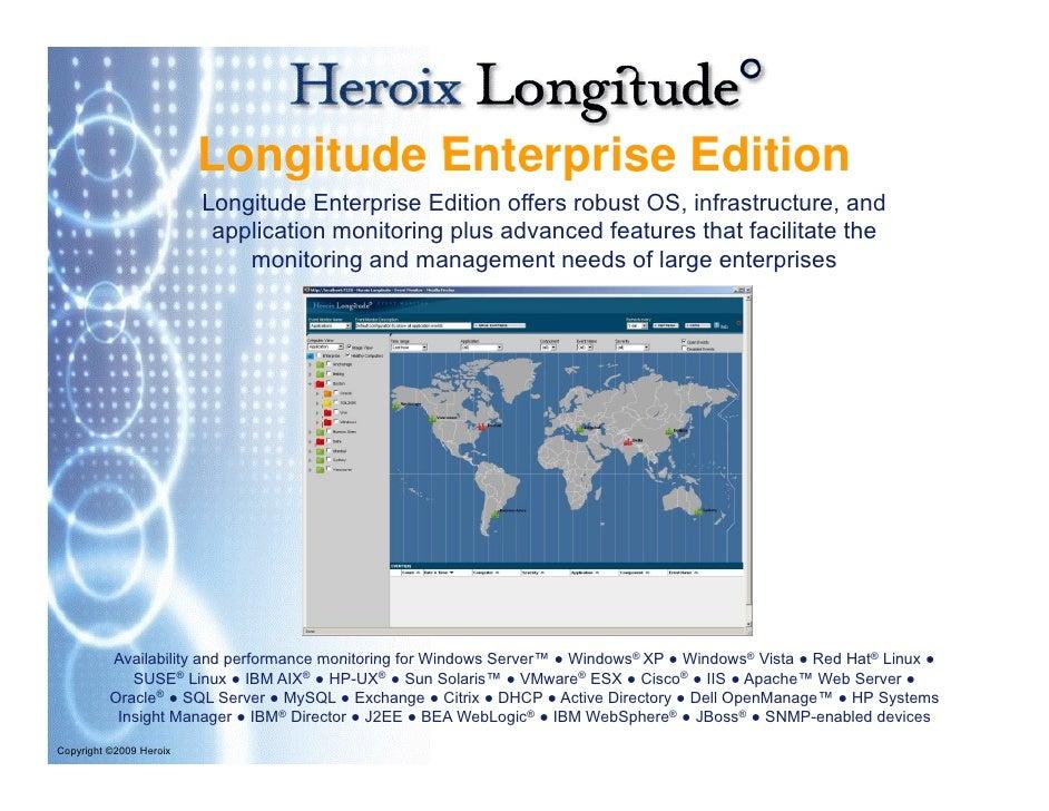 Longitude Enterprise Edition                          Longitude Enterprise Edition offers robust OS, infrastructure, and  ...