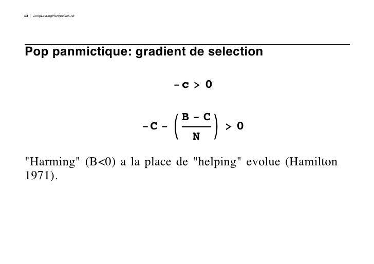 12   LongLastingMontpellier.nb     Pop panmictique: gradient de selection                                        -c > 0   ...