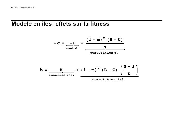 20   LongLastingMontpellier.nb     Modele en iles: effets sur la fitness                                                  ...