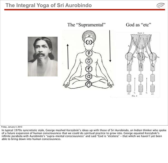 "The Integral Yoga of Sri Aurobindo                                                   The ""Supramental""                    ..."
