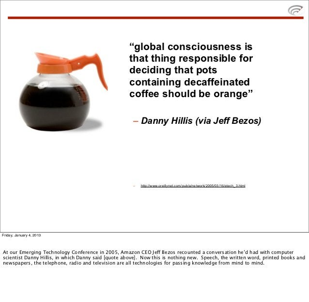 """""""global consciousness is                                                     that thing responsible for                   ..."""