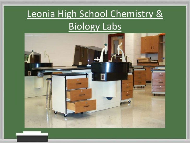 Leonia High School Chemistry & Biology Labs<br />