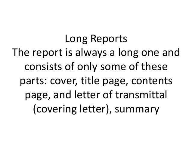 short report