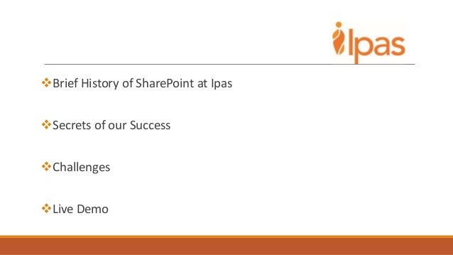 APLIC 2014 - Sharing IS the point Slide 2