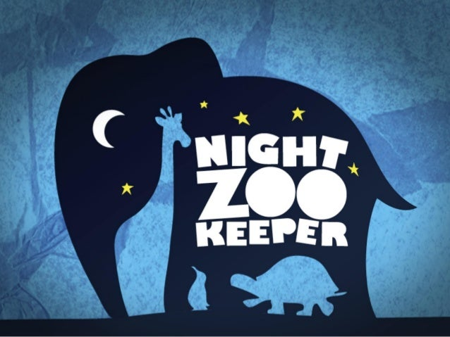 We had a visit from the Night Zookeeper