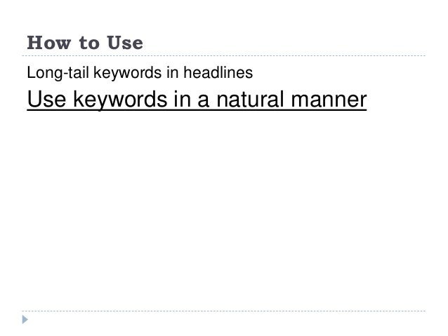 Long tail keywords untapped opportunity for Portent usage examples