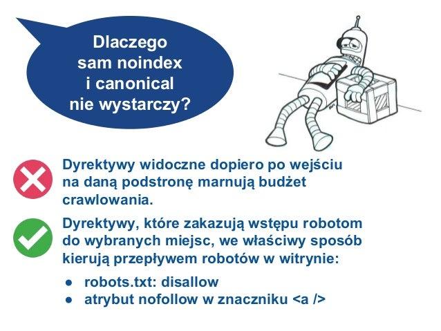 Efekt zablokowania nawigacji fasetowej przed robotami Disallow: /*?*cat= Disallow: /*?*price= Disallow: /*?*gemstone= Disa...