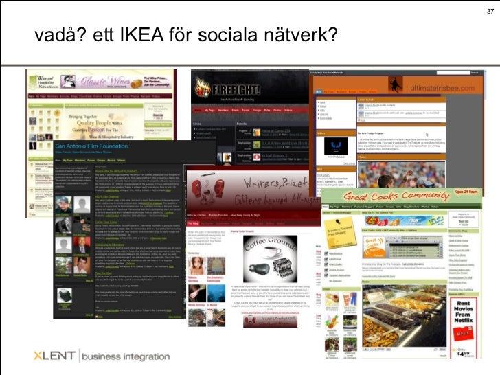 vadå? ett IKEA för sociala nätverk?