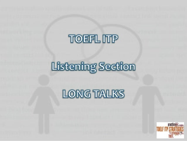 Three talks, each fallowed by a number of multiple-choice questions, appear in part C of the listening comprehension secti...