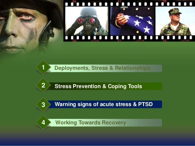 Long Term Deployments and Stress Slide 3