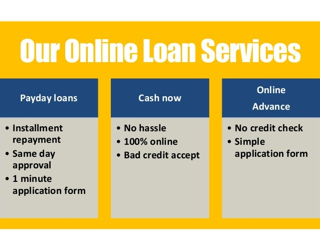 Payday loan application form photo 3