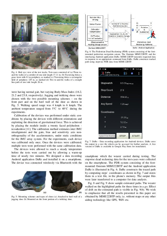 Long Term Performance Evaluation Of A Foot Mounted