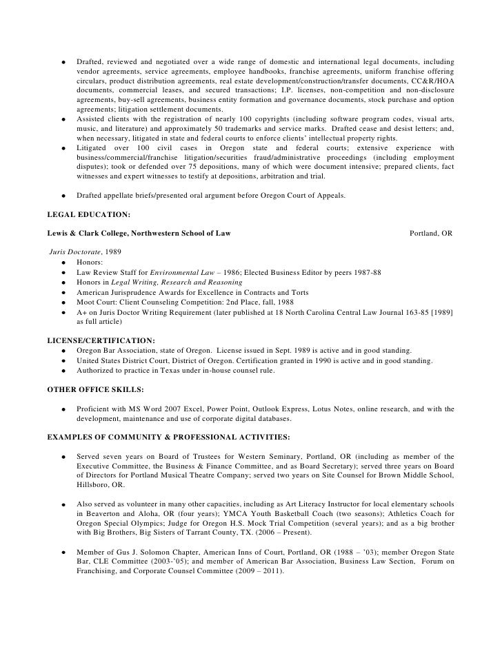 Examples Of Resumes Best Resume Sample Corporate Attorney Photo Doc  Custodian Resume Sample Cover Letter Template