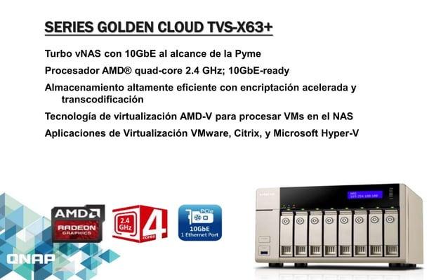 SERIES TS-X31+ NAS Poderoso y Económico para Pequeños Negocios Procesador Avanzado ARM™ Cortex™-A15 1.4GHz dual-core con s...