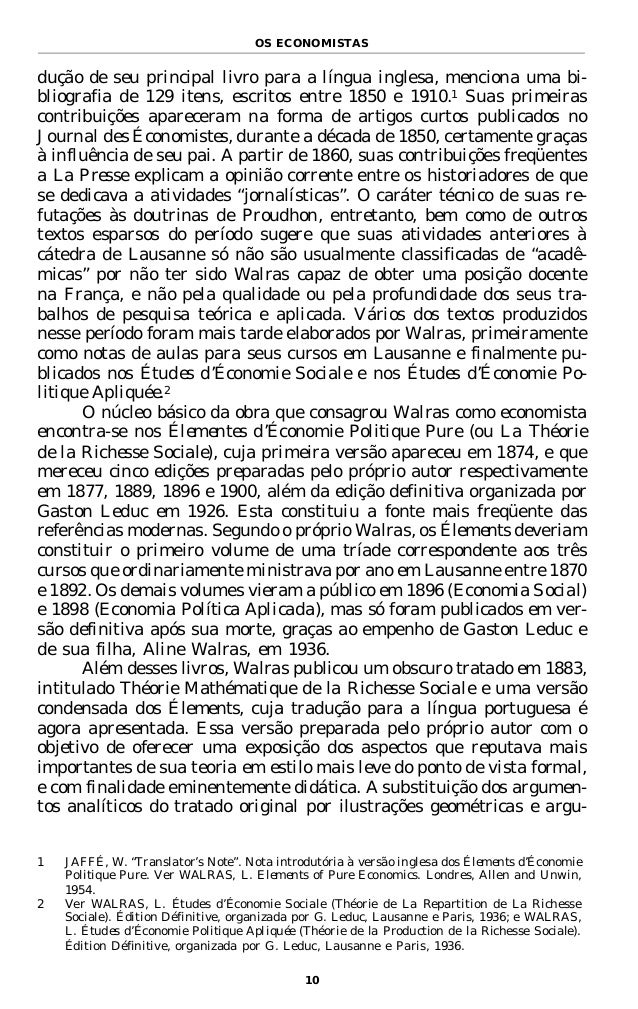 william jaffe essays on walras Walras and the neowalrasian diversion - volume 20 issue 1 - manuel luís costa.