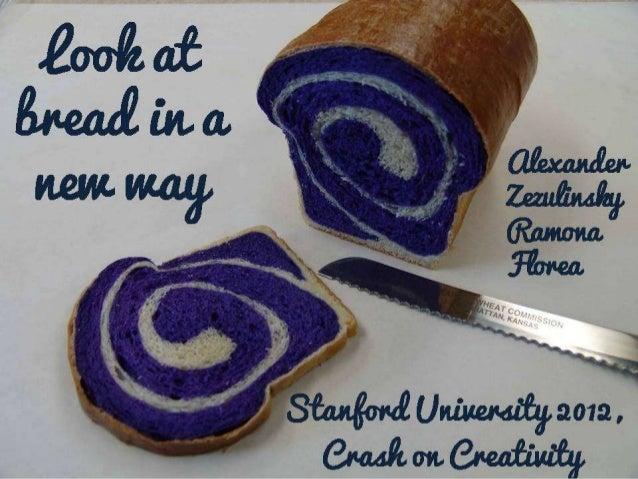 Look at breadin a new               Alexand                       er  way                  Zezulins                       ...