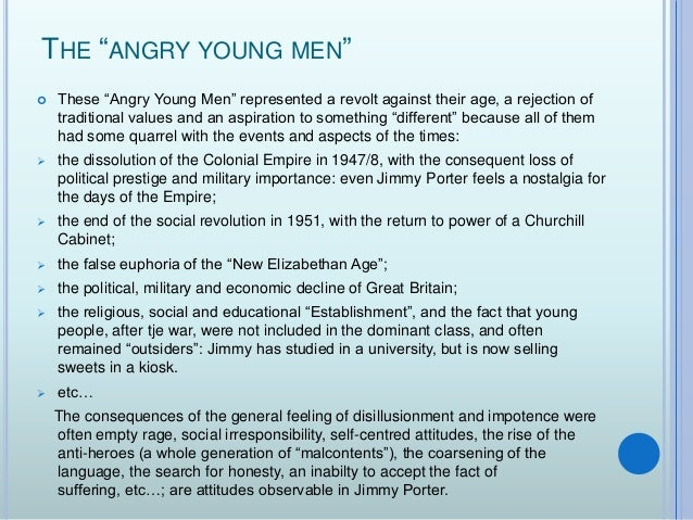 look back in anger thesis Look back in anger play analysis essay home @ryship_22 a thesis statement is a short statement that summarizes the main point of an essay & is supported.