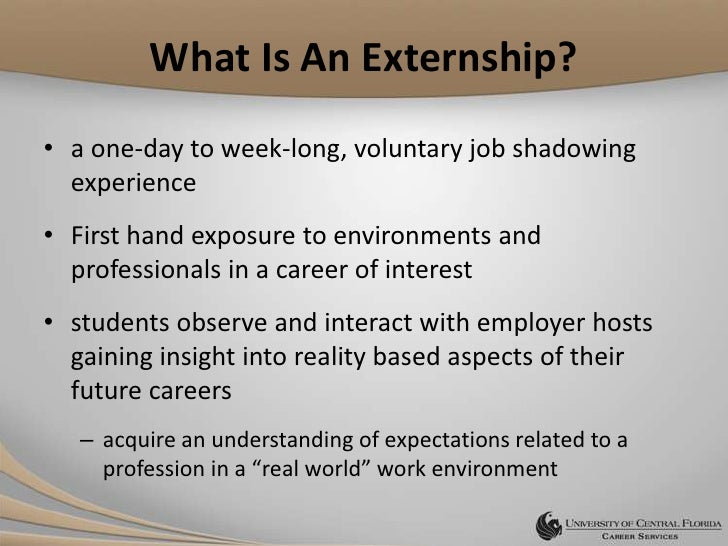 look before you leap externship job shadowing program look before you leap externships develop grow and strengthen a job shadowing program heather engelking mpa 2