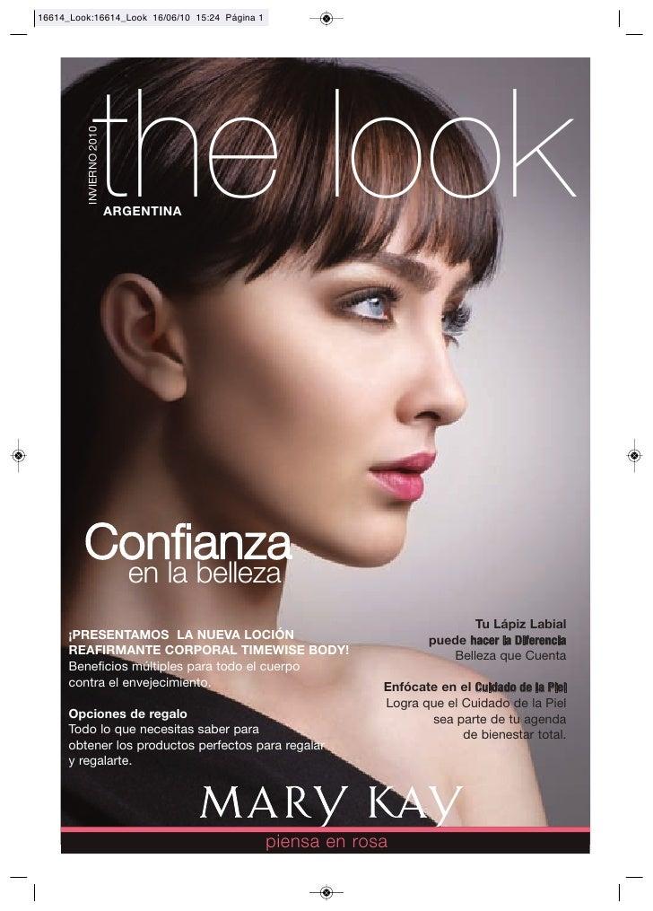 the look    INVIERNO 2010                        ARGENTINA       Confianza                      en la belleza             ...