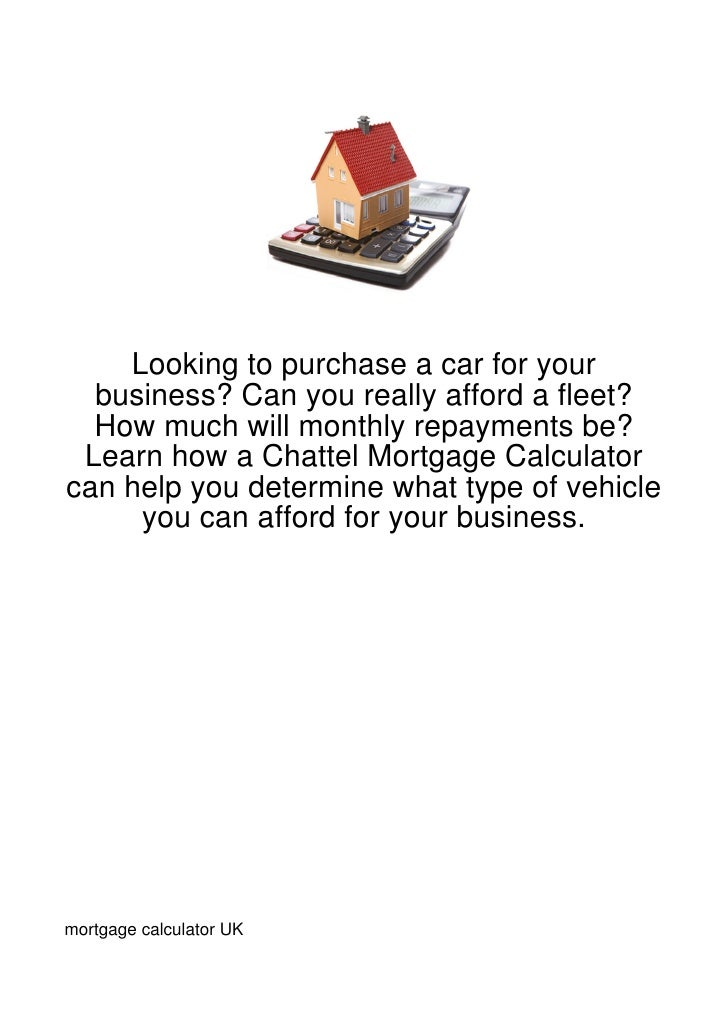 Looking to purchase a car for your  business? Can you really afford a fleet?  How much will monthly repayments be? Learn h...