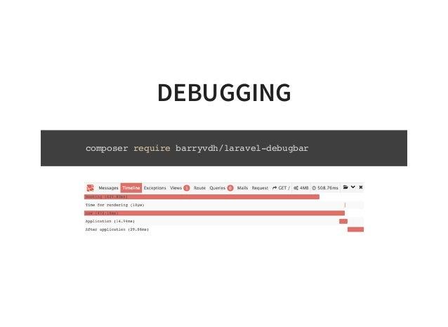 BARRYVDH - GitHub - barryvdh/laravel-debugbar: Laravel Debugbar