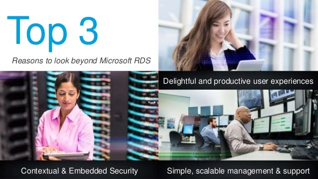 Top 3 Contextual & Embedded Security Delightful and productive user experiences Simple, scalable management & support Reas...