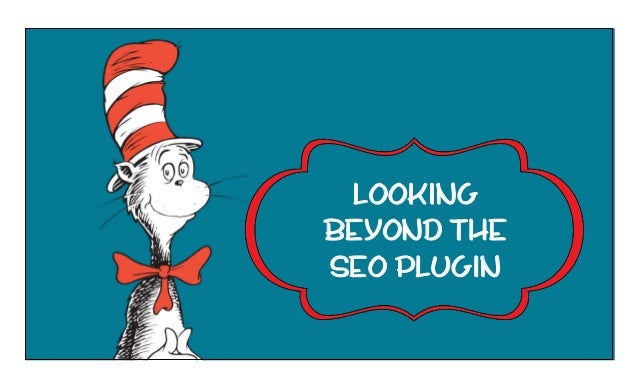 LOOKING beyond the SEO plugin