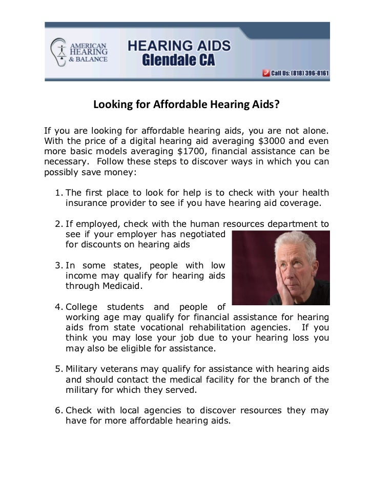 Affordable Hearing Aids >> Looking For Affordable Hearing Aids