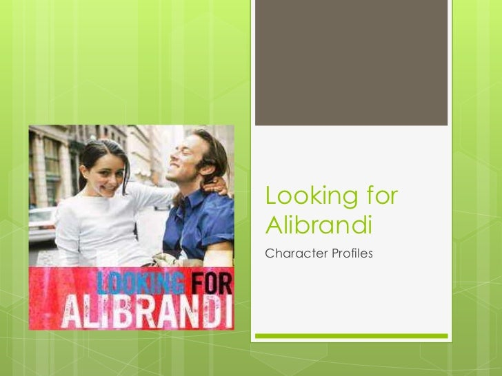 looking for alibrandi realtionship with john essay