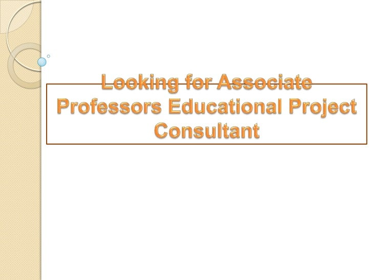 Designation: - associateprofessors / educational projectconsultantIndia Technologies is based E-Branding  Mumbai city of ...