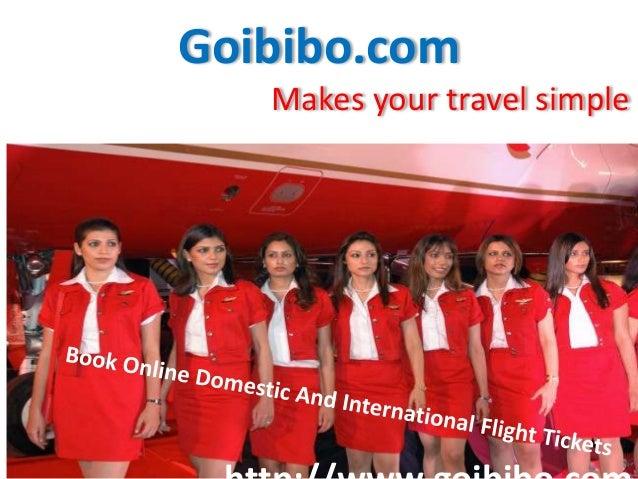 Goibibo.com Makes your travel simple