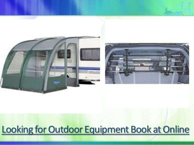 Looking for Outdoor Equipment Book at Online
