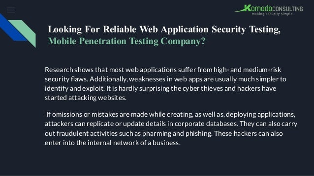 looking for reliable web application security testing mobile penetration testing company 1 638