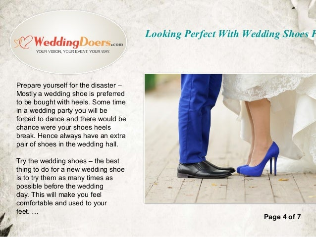 Looking perfect with wedding shoes follow the tips looking perfect with wedding shoes f 5 prepare yourself solutioingenieria Gallery