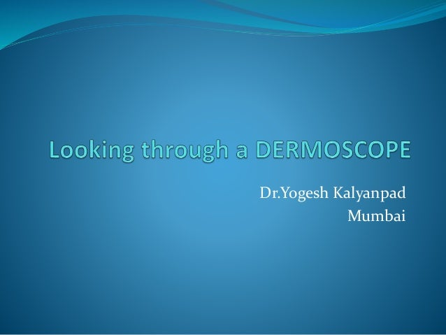 Dr.Yogesh Kalyanpad Mumbai
