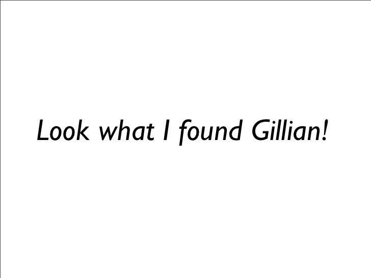 Look what I found Gillian!