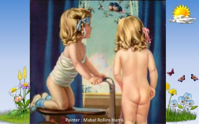 Look Who's Here Painter : Mabel Rollins Harris